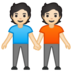 People Holding Hands: Light Skin Tone