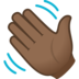 Waving Hand: Medium-Dark Skin Tone