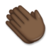 Clapping Hands: Dark Skin Tone
