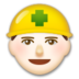 Construction Worker: Light Skin Tone
