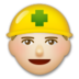Construction Worker: Medium-Light Skin Tone