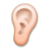 Ear: Medium-Light Skin Tone