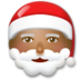 Santa Claus: Medium-Dark Skin Tone
