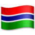 Flag: Gambia