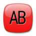 AB Button (Blood Type)