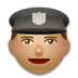 Police Officer: Medium Skin Tone