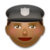 Police Officer: Medium-Dark Skin Tone