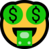 Money-Mouth Face