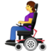 Person in Motorized Wheelchair