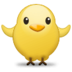 Front-Facing Baby Chick