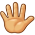 Hand With Fingers Splayed