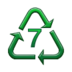 Recycling Symbol for Type-7 Plastics