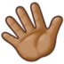 Waving Hand: Medium Skin Tone