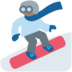 Snowboarder: Medium-Dark Skin Tone
