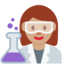 Woman Scientist: Medium Skin Tone