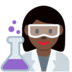 Woman Scientist: Dark Skin Tone
