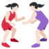 Women Wrestling, Type-1-2