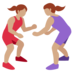 Women Wrestling, Type-4