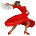 Woman Dancing: Medium-Dark Skin Tone